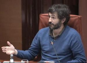 Oleguer Pujol, en la comisión parlamentaria que investiga el fraude