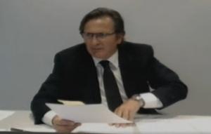 Josep Pujol Ferrusola, vídeoconferència al Parlament