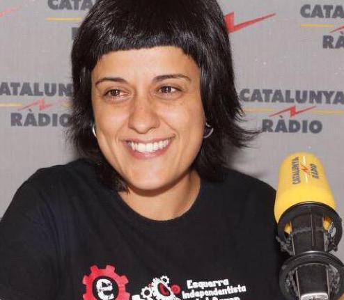 Anna Gabriel, diputada de la CUP.