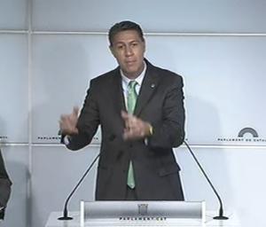 Xavier Garcia Albiool, del PP, al Parlament