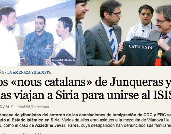 'La Razon' vincula islamistes de Nous Catalans amb el Daesh