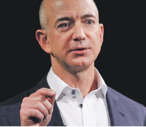 """Els sindicats consideren el president d'Amazon com """"el pitjor empresari del món""""."""