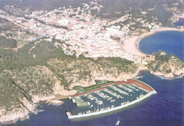 Proyecto de puerto deportivo de Tossa de Mar
