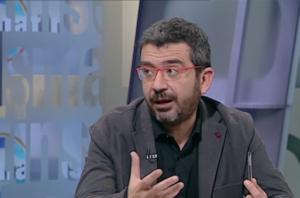Francesc Sànchez, representant de CDC, a TV3