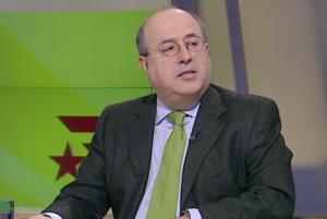 El director de 'El Nacional', José Antich, en una intervención en TV