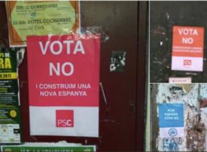 cartells falsos PSC