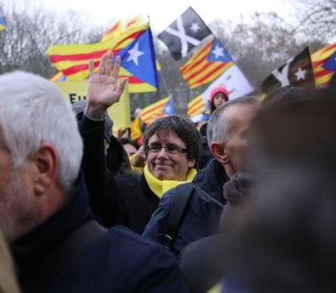 Puigdemont manifestació