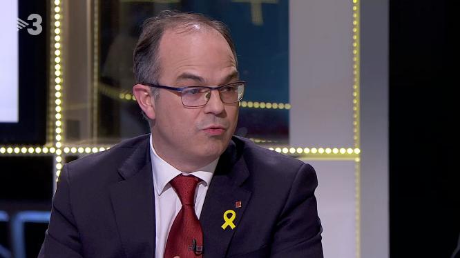 Jordi Turull, a TV3