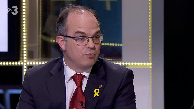 Jordi Turull, en TV3