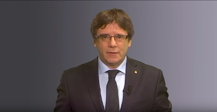 puigdemont video