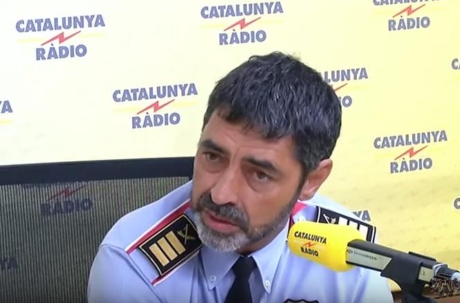 Trapero, en Catalunya Ràdio