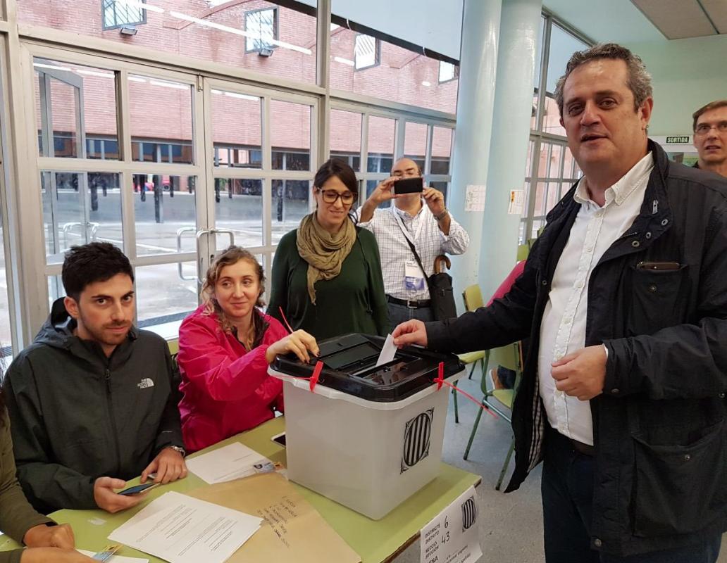 forn votant 1-O