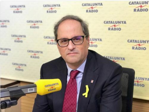quim torra catradio 15 maig 2018