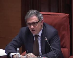 Jordi Pujol Ferrusola en el Parlament, en 2015
