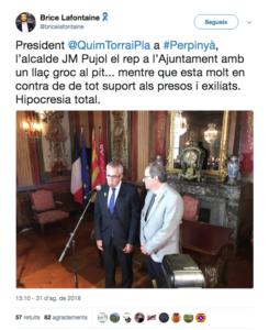 Jean-Marc Pujol y Quim Torra