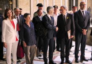 El ministre Grande-Marlaska i el president Torra