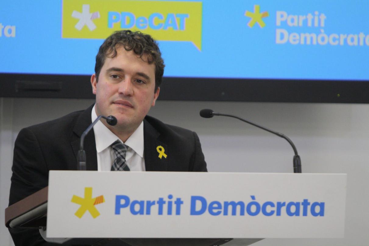 David Bonvehí, president del PDECat