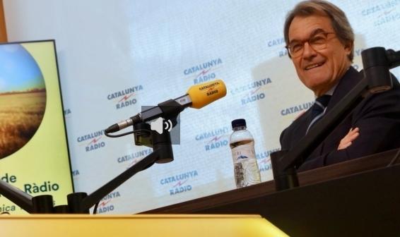 Artur Mas a Catalunya Ràdio