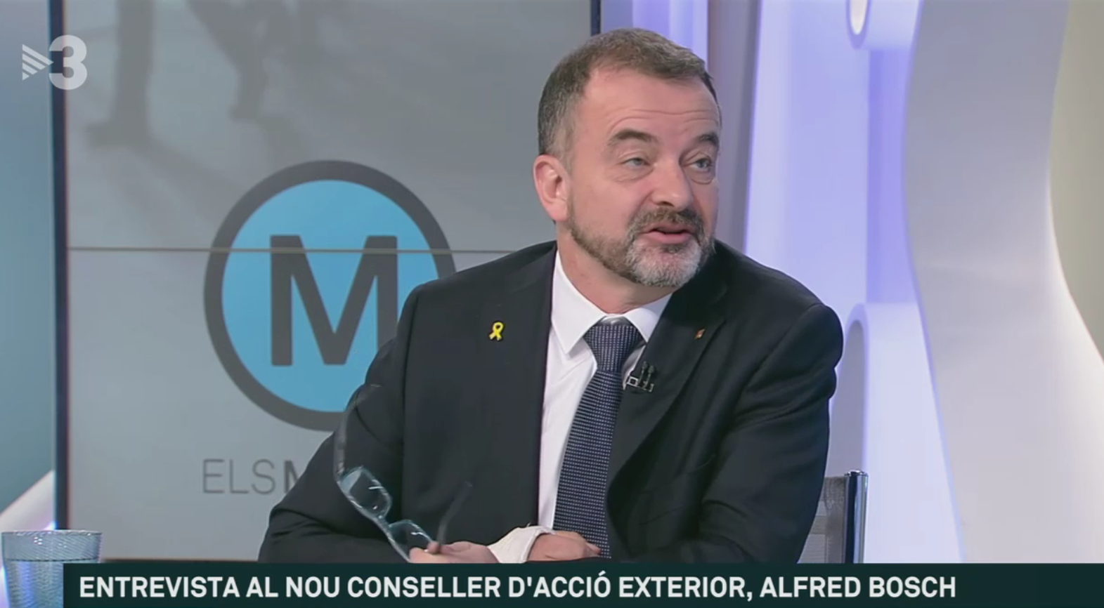 Alfred Bosch a TV3