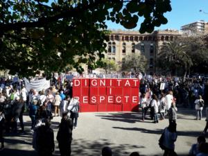 Protesta de médicos ante Salud