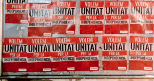 Cartells de l'ANC a Mataró