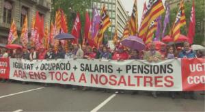 Manifestación sindical