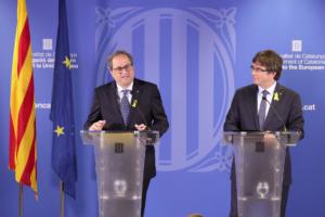 Quim Torra y Carles Puigdemont