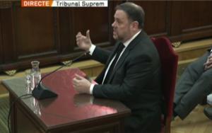Oriol Junqueras al Tribunal Supremo