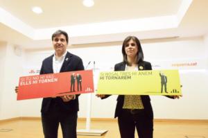 Sergi Sabrià y Marta Vilalta