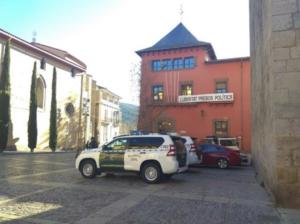 Operatiu de la Guàrdia Civil a la Seu d'Urgell