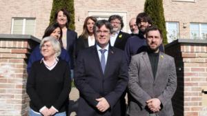 Puigdemont, Comín i Ponsatí, a Waterloo