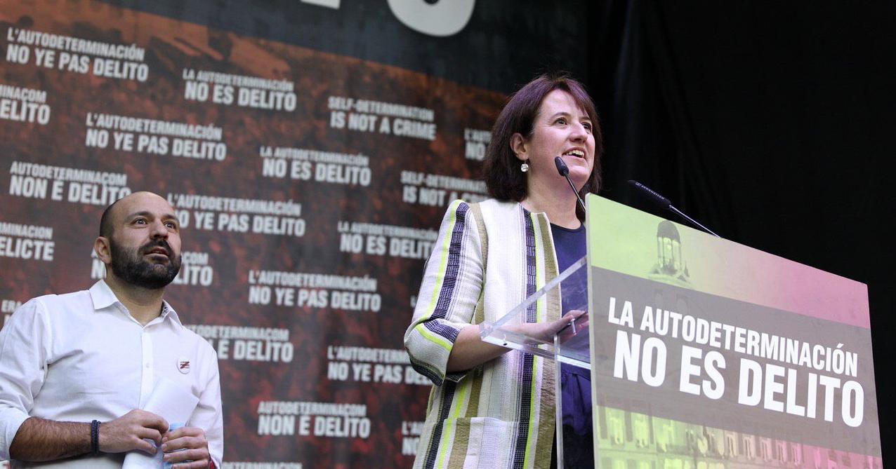 Elisenda Paluzie, presidenta de la ANC