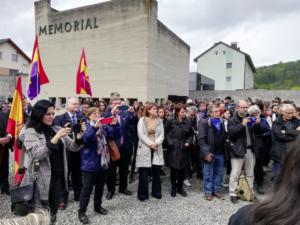 Conmemoración del 74º aniversario de la liberación de Mauthausen
