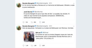Mongolia, criticant la intervenció de la Generalitat a Mauthausen