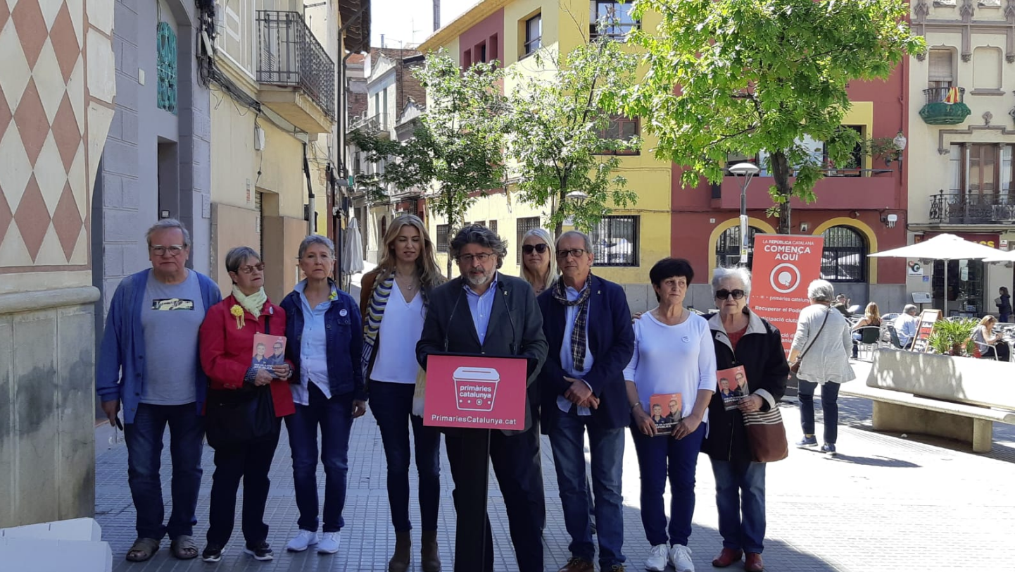 Comparecencia de Antoni Castellà en Molins de Rei