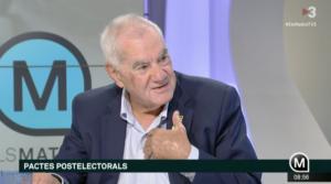 Ernest Maragall, en TV3