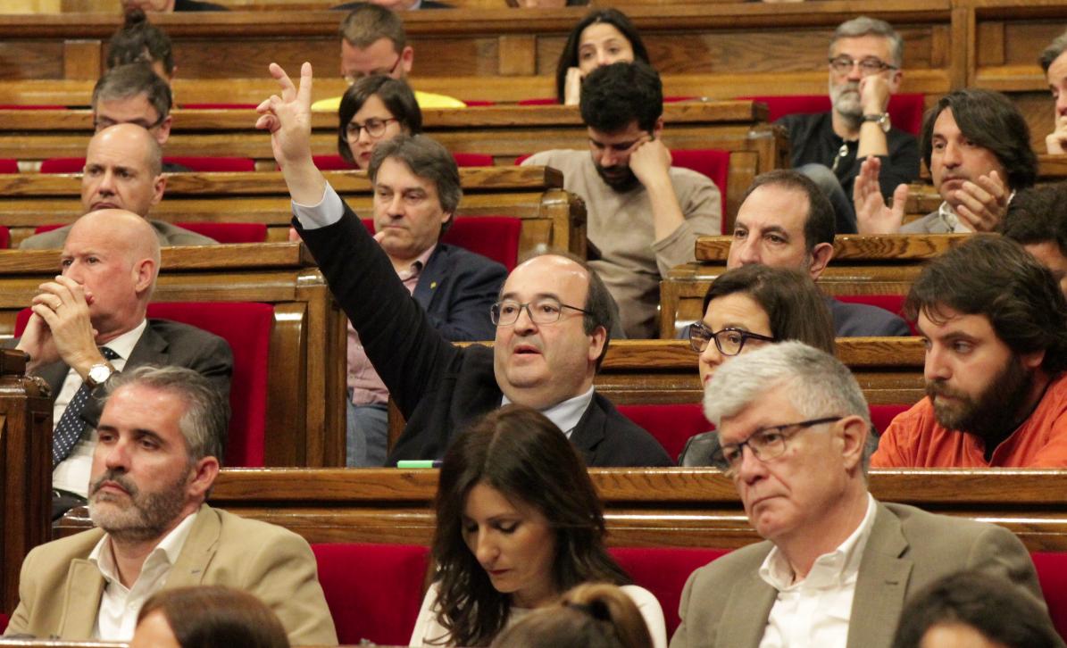 Iceta, al Parlament