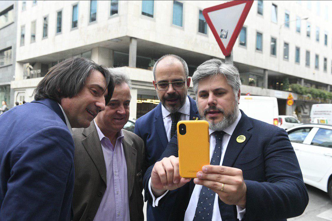 Albert Batet, a Madrid amb el conseller Miquel Buch, aquest dimarts