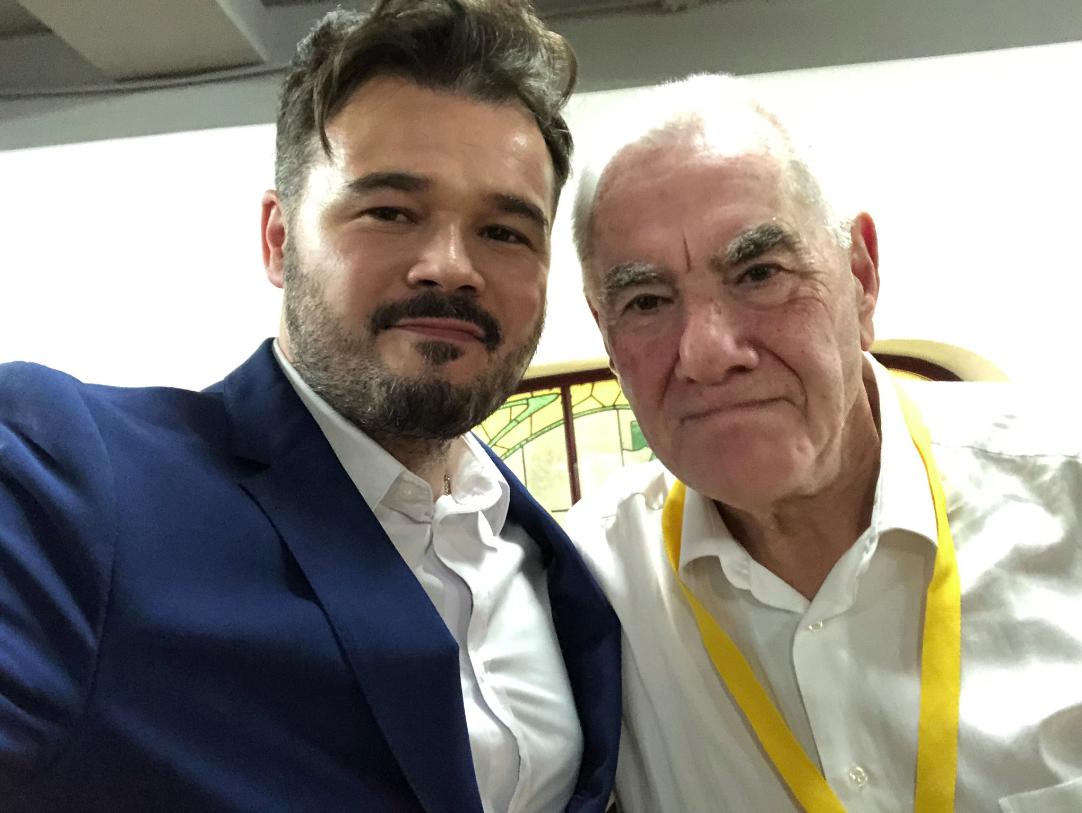 Gabriel Rufián i Ernest Maragall