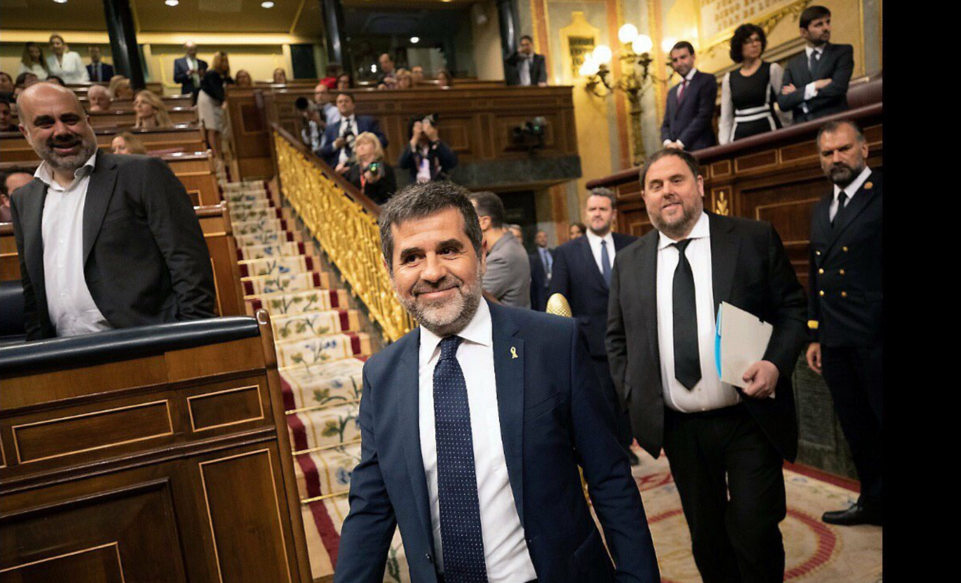 Jordi Sànchez en el Congreso