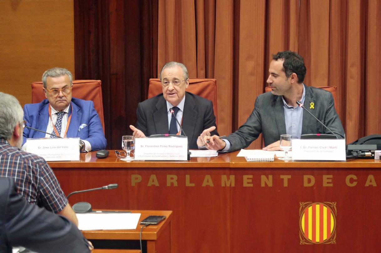 Florentino Pérez, president del grup ACS