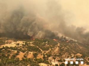 El incendio de la Ribera d'Ebre