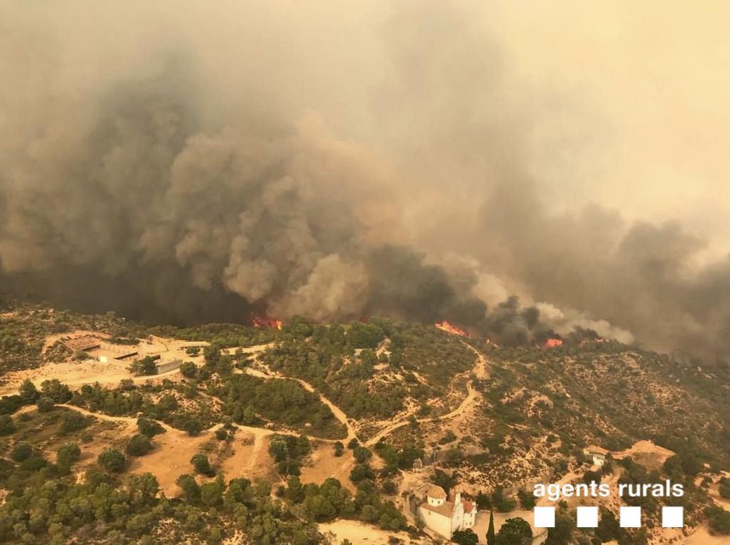 L'incendi de la Ribera d'Ebre