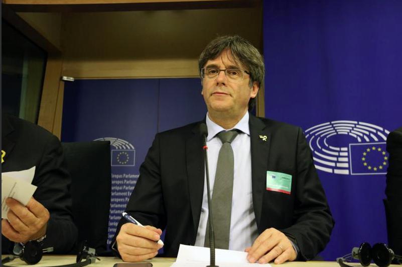 Puigdemont, invitado al Parlamento Europeo