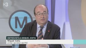 Miquel Iceta en TV3