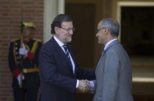 Mariano Rajoy y Toni Martí