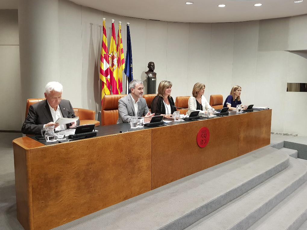 Núria Marín preside la Diputación de Barcelona