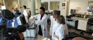 El presidente Quim Torra y la consejera de Salud, Alba Vergés