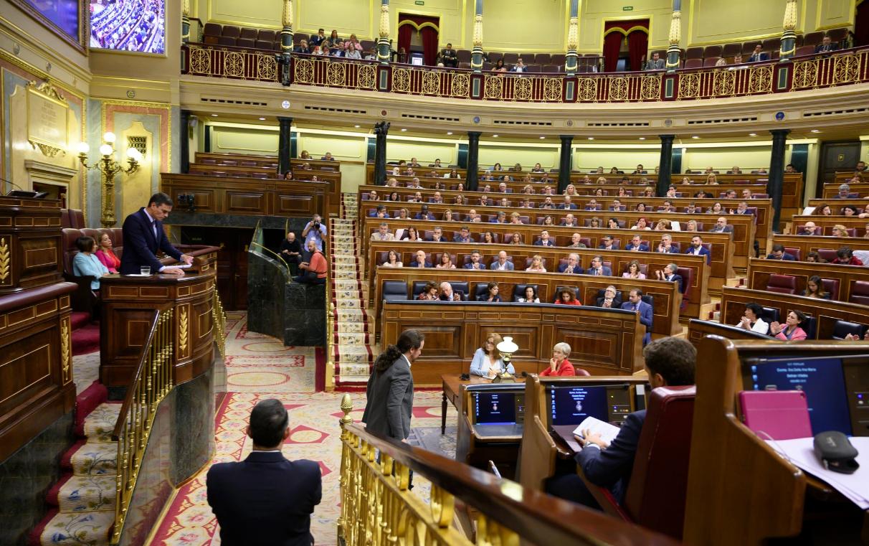Sánchez e Iglesias, en el Congreso