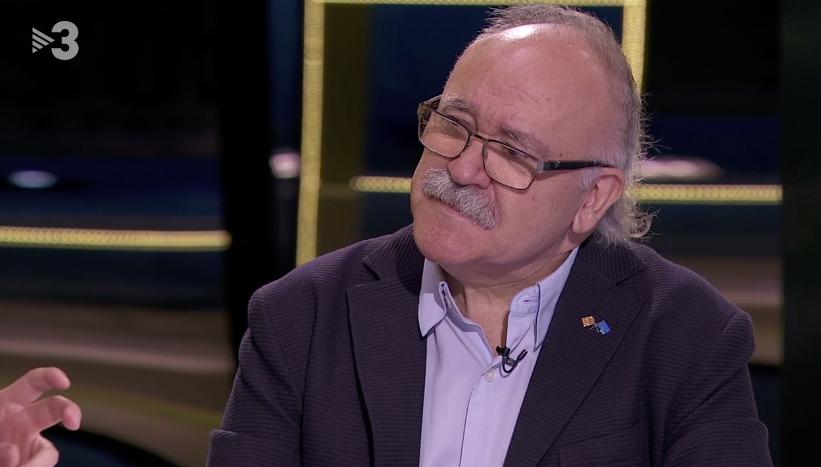 Josep-Lluís Carod-Rovira, en el 'FAQs' de Tv3
